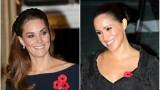 Меган и Кейт не си разменят и поглед
