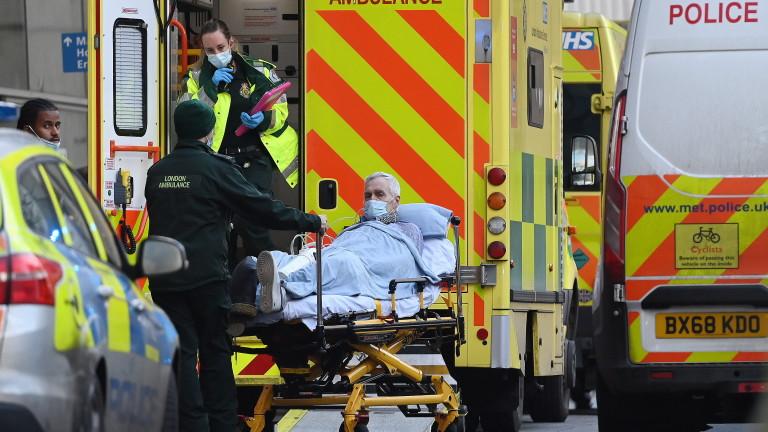 Великобритания отново счупи рекорда за заразени с коронавируса