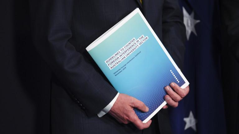 Австралия представи нови насокиза противодействие на чуждестранни сили, оказващи влияние