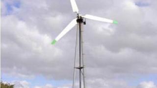 Пуснаха първия вятърен генератор в Русенско