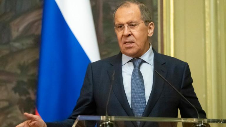 Руският външен министър Сергей Лавровподчерта важността на отказа на британските
