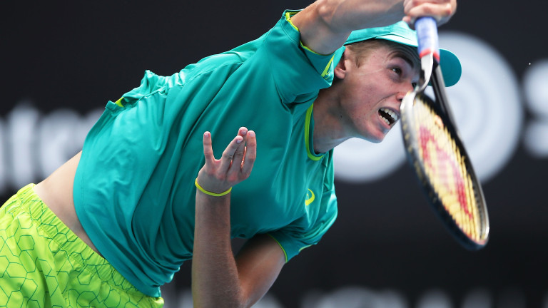 Алекс де Минор и Джордан Томпсън осигуриха полуфиналист от Австралия в Хертогенбош