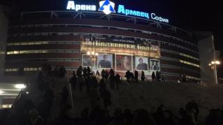 """""""Арена Армеец"""" замръзва за Световното по шорттрек"""