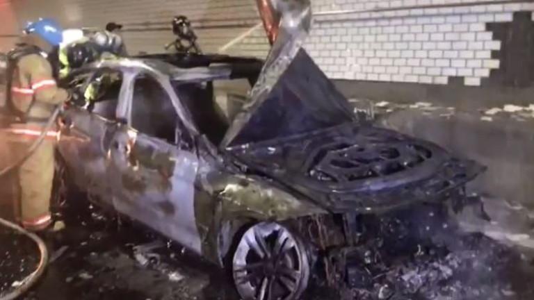 Р. Корея, Инцидент със самозапалил се автомобил BMW, 30 юли 2018 г.