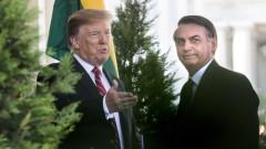 САЩ обявяват Бразилия за главен съюзник извън НАТО