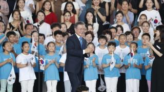 Президентът на Южна Корея призова за създаване на железопътна общност в Азия