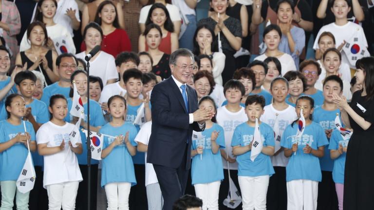 Президентът на Южна Корея призова за създаване на пътни и