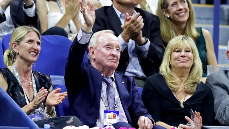 Австралийската тенис легенда Род Лейвър оцени подобаващо Стефанос Циципас и