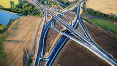 Вижте най-големия пътен възел в България (ВИДЕО)