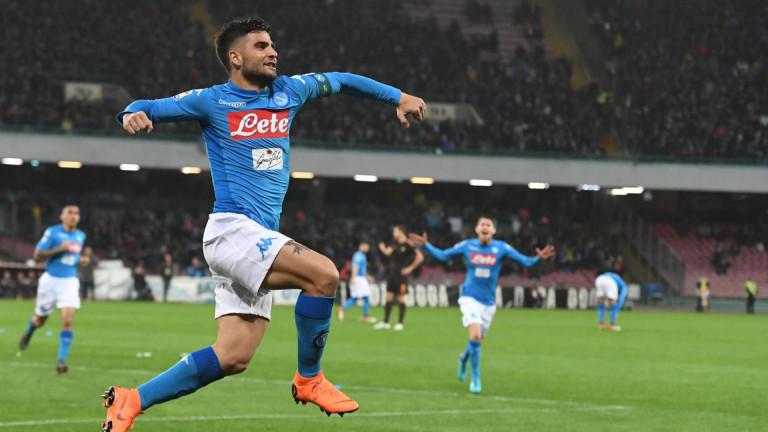 Лоренцо Инсинеизрази задоволството си от победата наНаполи с 1:0 над