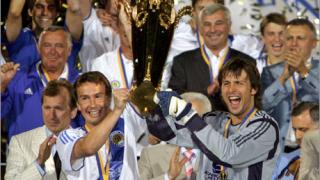 Динамо (Киев) със Суперкупата на Украйна