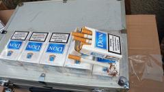 Откриха 46 мастербокса цигари