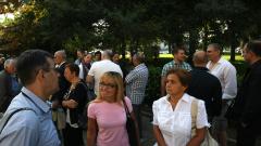 Десетки протестиращи поискаха зелен град от Столична община