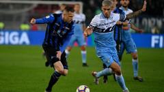 Лацио триумфира с Купата на Италия след късни голове