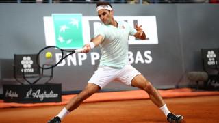 И Роджър Федерер се контузи след вчерашния тенис маратон в Рим