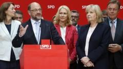 Труден период за социалдемократите, призна Мартин Шулц след загубата