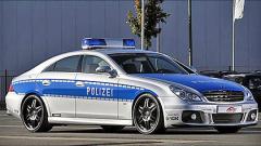 Полицейски автомобил за 348 000 евро