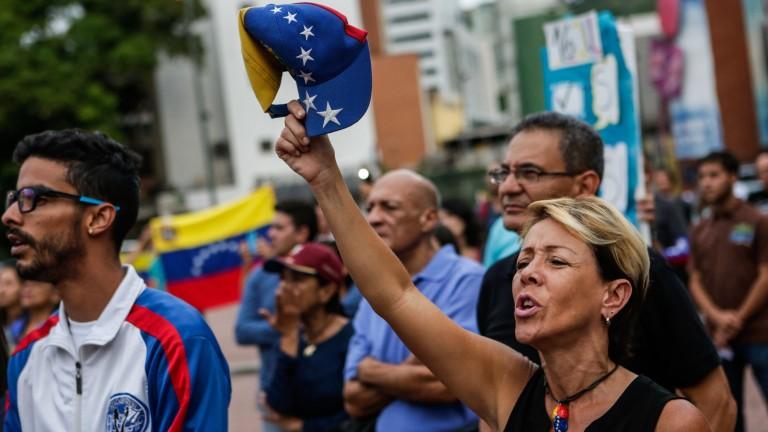"""Опозицията и политическите затворници във Венецуела удостоени с наградата """"Сахаров"""""""