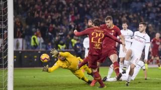 Рома - Милан 1:1, гол на Дзаниоло!