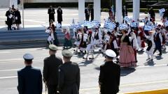 Гърция отбеляза 200 г. независимост с военен парад