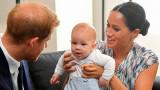 Принц Хари, Меган Маркъл, синът им Арчи и първата му поява в Южна Африка