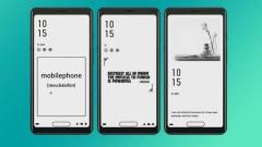 Смартфон, но с черно-бял екран