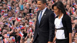 Обама обяви, че влиза в президентската битка