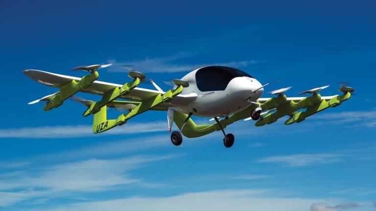 Създадоха безпилотно аеротакси
