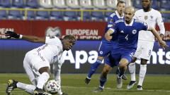 Франция спечели гостуването си на Босна и Херцеговина с 1:0 в световна квалификация
