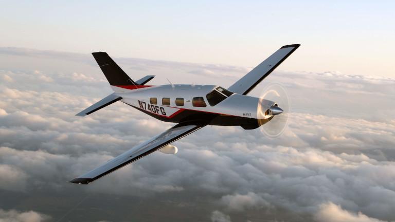 Електрически самолет на акумулаторни батерии се качи в небето над
