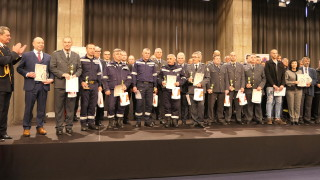 Избраха пожарникар на годината за 2019