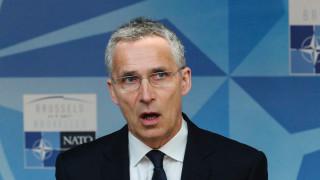 НАТО подкрепя Украйна за миротворците на ООН