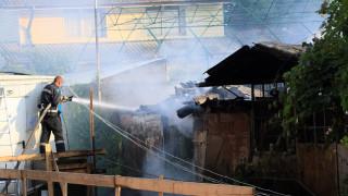 Жилищна сграда горя в Шумен