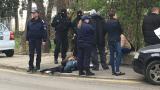 Полицаи закопчани при акция в София, единият стрелял срещу своите