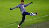 Потвърдено: Байерн (Мюнхен) без Томас Мюлер срещу Ливърпул