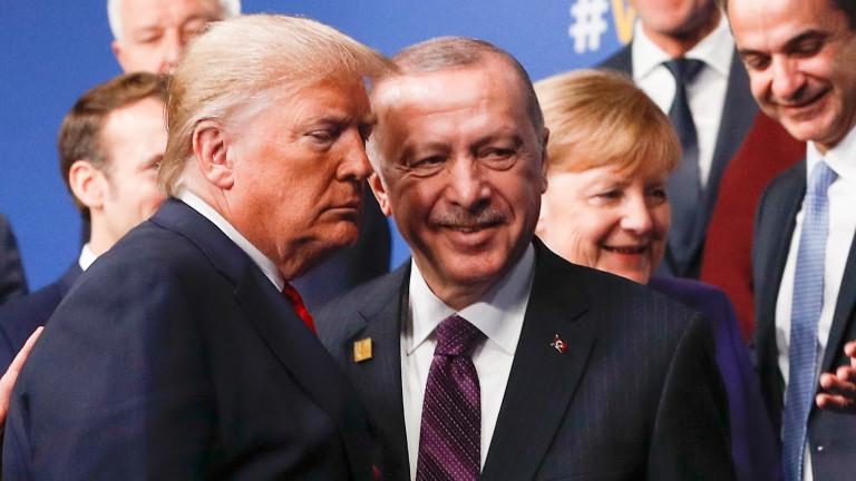 Тръмп и Ердоган обсъдиха Иран, Сирия и Либия