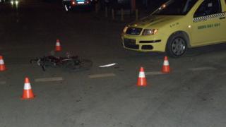 Таксиджия блъсна велосипедист в Благоевград