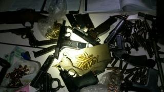 Откриха 2,5 тона оръжие и боеприпаси в дома на германец