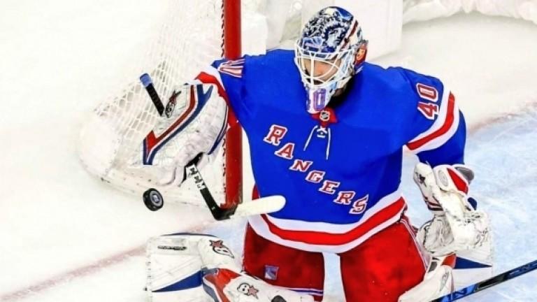 Александър Георгиев спаси 55 шайби навръх рождения си ден