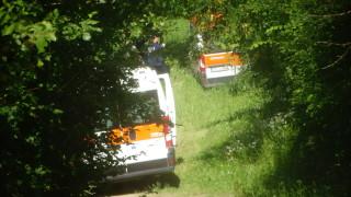 Линейка излетя от пътя Симитли-Банско