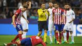 Титуляр в Реал плаче при смяната си срещу Атлетико