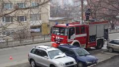 Апартамент се запали в Благоевград, вътре нямало никого