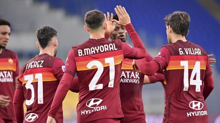 Рома спечели домакинството си на Болоня в срещата между двата