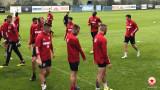 ЦСКА направи първа тренировка в Австрия
