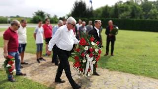 ЦСКА почете загиналите български герои край Вуковар