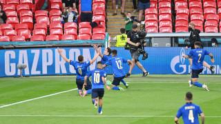 Италия изстрада класирането си за 1/4-финал на Евро 2020, резерви пречупиха храбрите австрийци