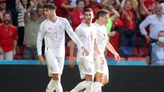 Хърватия - Испания 3:5 след продължения (Развой на срещата по минути)