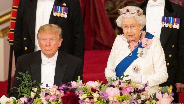 Пакостите на Доналд Тръмп в британския кралски двор