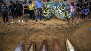 Вече над 3000 починали от новия коронавирус в Бразилия
