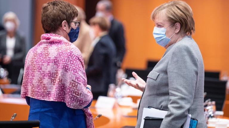 Изявлението на германския министър на отбраната Анегрет Крамп-Каренбауер за установяване